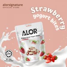 Freeze Dried Strawberry Yogurt Bites