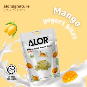 Freeze Dried Mango Yogurt Bites