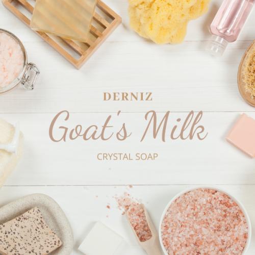Derniz Goat's Milk Crystal Soap 20g
