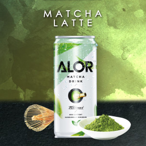 Matcha Latte RTD ( 6 Cans/Pack)