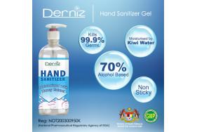 Derniz Hand Sanitizer 500ml (Gel Type)